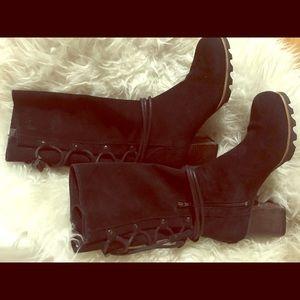 Sorel Farrah Mid Suede Boots